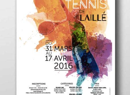 Affiche USL Tennis Laillé